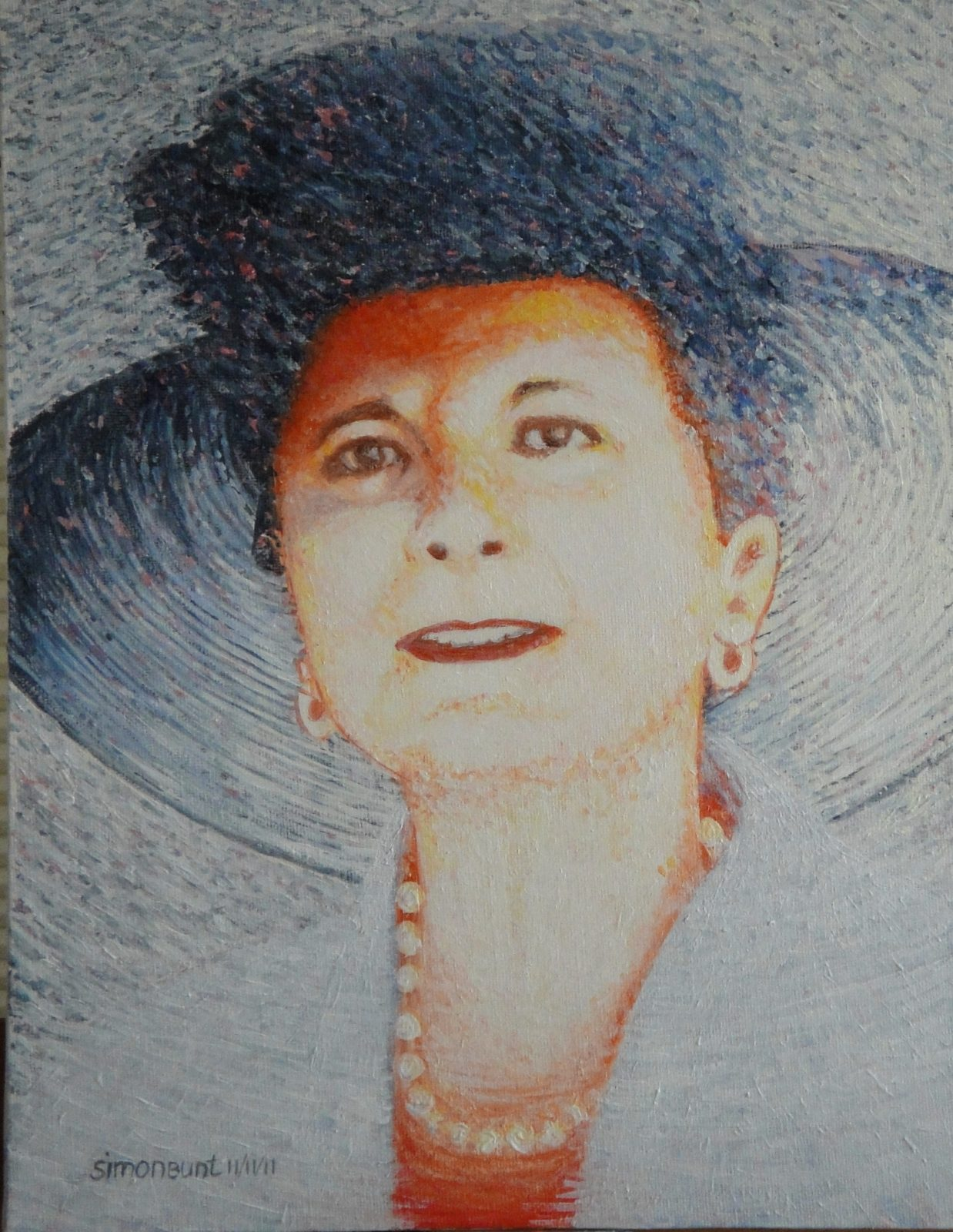 Veronique, acrylic on canvas 30x40
